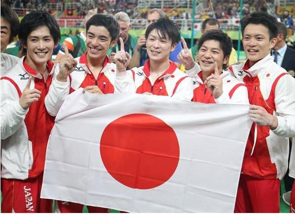 リオ五輪体操男子団体が金メダル